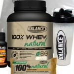 Balance 100% Whey Natural Stack Pack 1.5kg