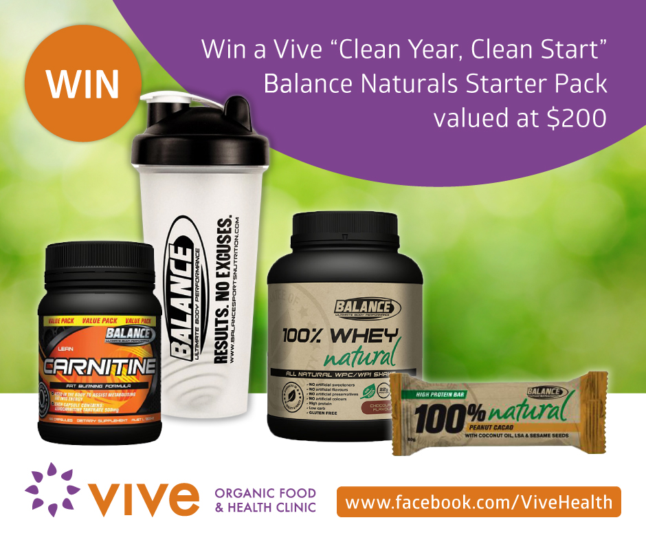Clean Year, Clean Start Giveaways - Vive Health