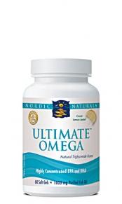 Nordic Naturals Ultimate Omega Fish Oil 1000mg Lemon