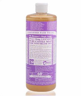 Dr Bronner's Pure-Castile Soap Lavender