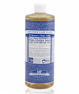 Dr Bronner's Pure-Castile Soap Peppermint