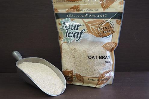 Four Leaf Certified Organic Oat Bran