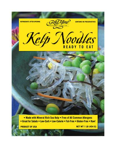 Gold Mine Natural Food Co Kelp Noodles