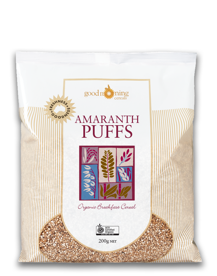 Good Morning Cereal Amaranth Puffs
