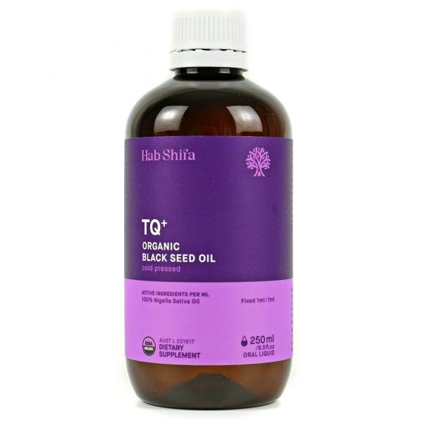 Hab Shifa TQ+ Organic Black Seed Oil