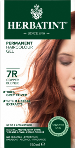 Herbatint Permanent Haircolour 7R Copper Blonde
