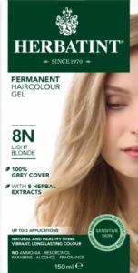 Herbatint Permanent Haircolour 8N Light Blonde