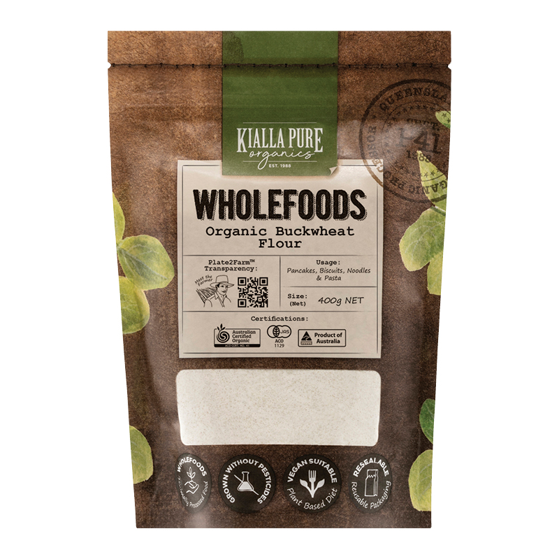 Kialla Pure Foods Organic Buckwheat Flour