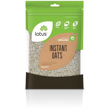 Lotus Organic Instant Oats
