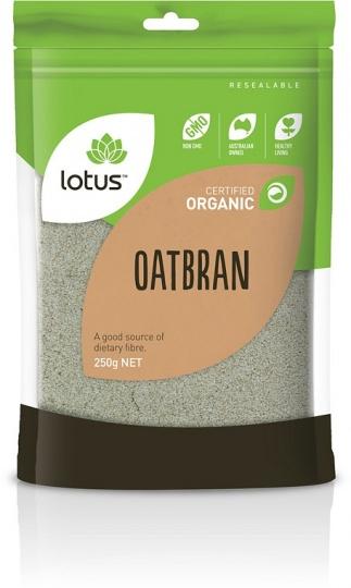 Lotus Certified Organic Oat Bran