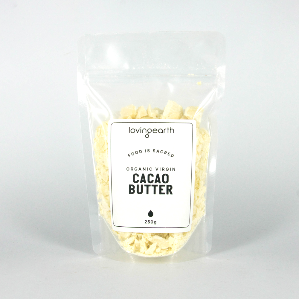 Loving Earth Raw Organic Cacao Butter