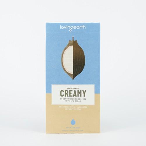 Loving Earth Organic Creamy Coconut Mylk Chocolate