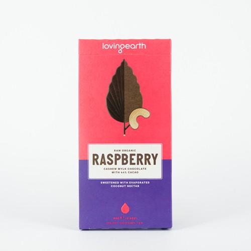 Loving Earth Raw Organic Raspberry Chocolate