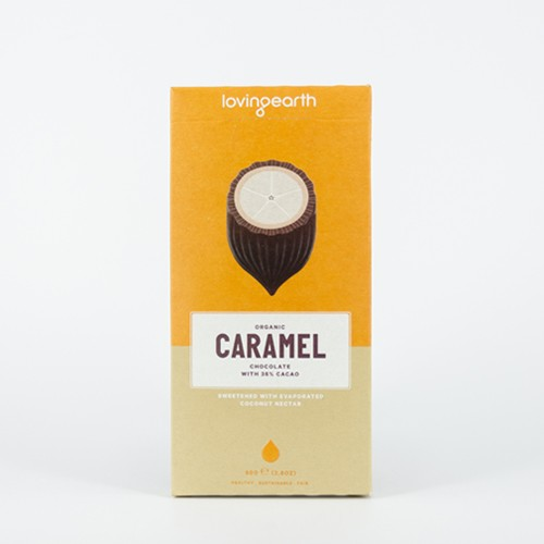 Loving Earth Organic Caramel Chocolate