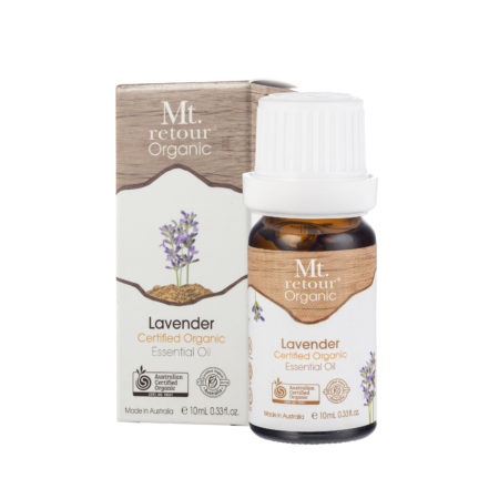 Mt Retour Certified Organic Lavender 100% Essential Oil