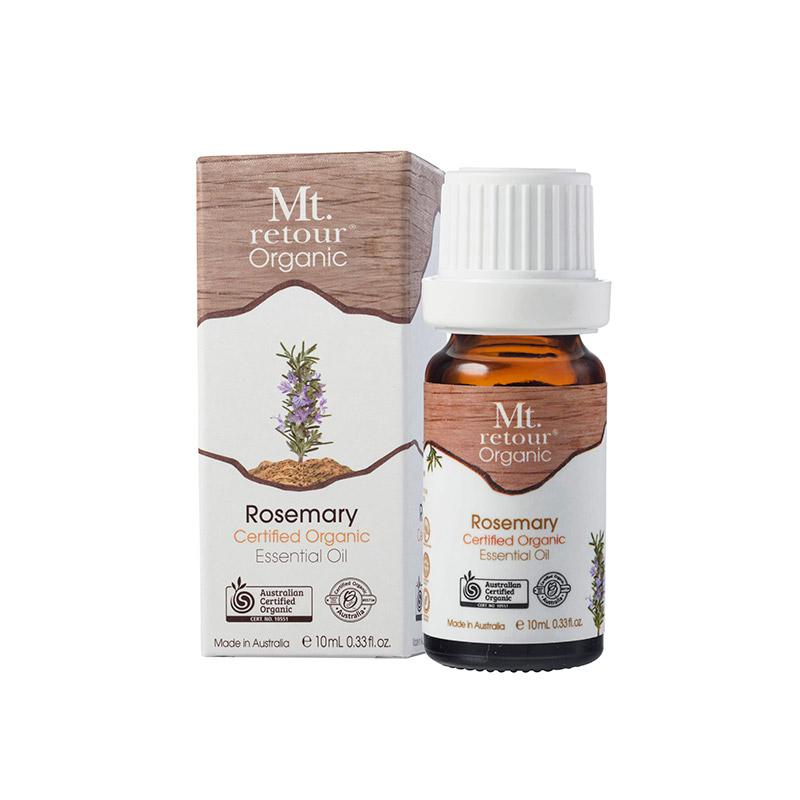 Mt Retour Certified Organic Rosemary 100% Essential Oil
