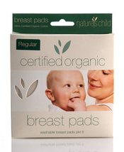 Nature's Child Organic Washable Breast Pads