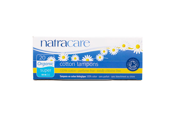 Natracare Organic Cotton Tampons Super