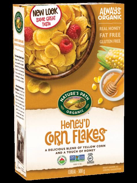 Nature's Path Organic Honey'D Corn Flakes