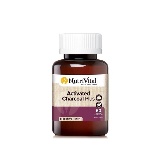 Nutrivital Activated Charcoal Plus