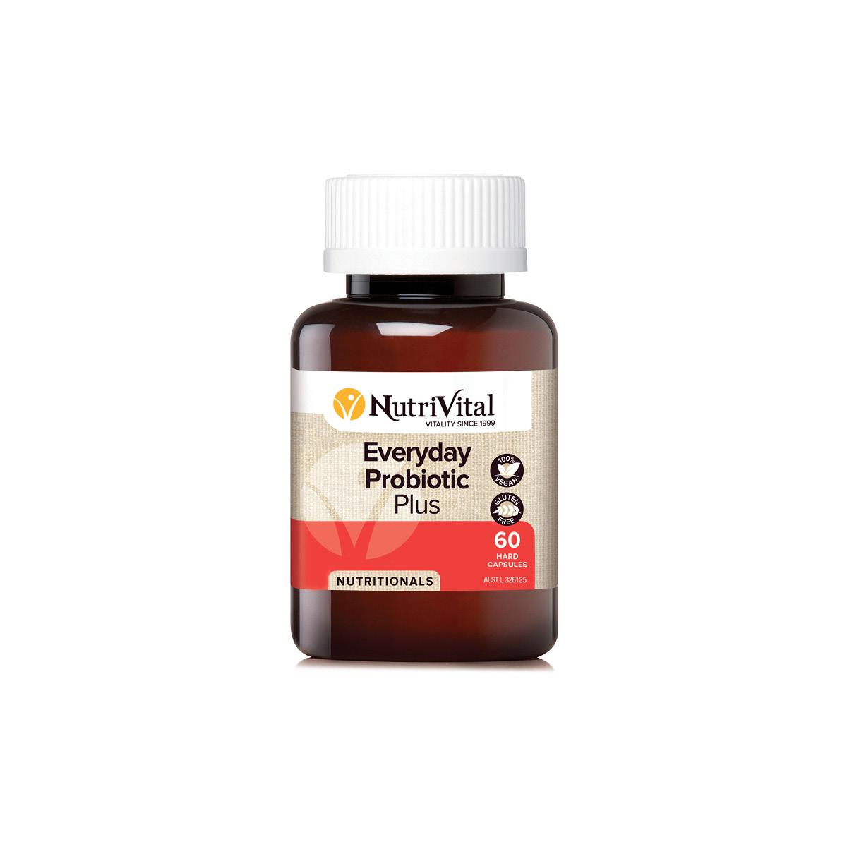 Nutrivital Everyday Probiotic Plus