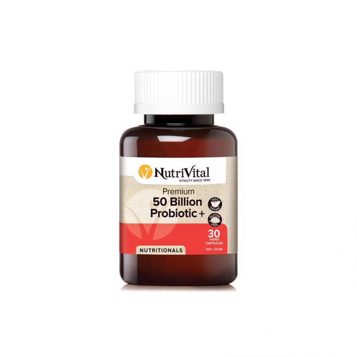 Nutrivital Premium 50 Billion Probiotic +