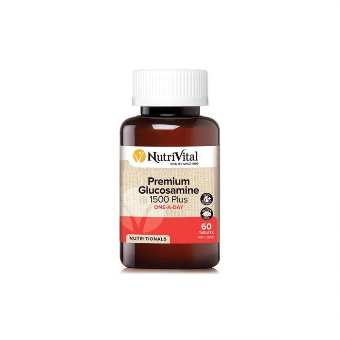 Nutrivital Premium Glucosamine 1500 Plus