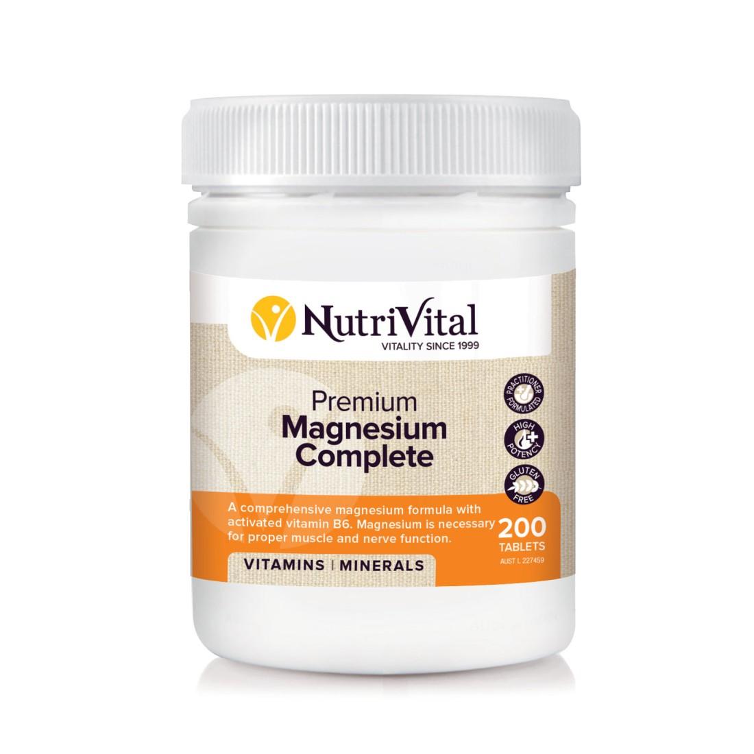 Nutrivital Premium Magnesium Complete
