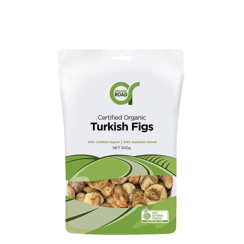 Organic Road Certified Organic Turkish Figs