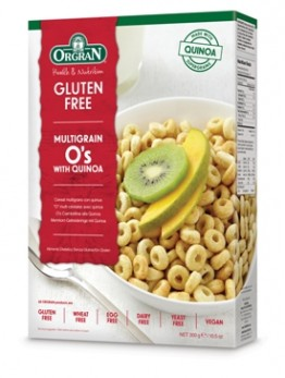 Orgran Super Grains Multigrain O's with Quinoa Cereal