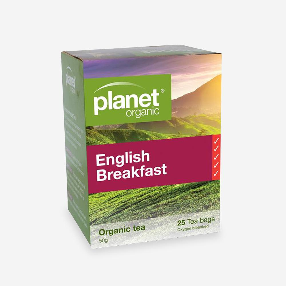 Planet Organic English Breakfast Tea