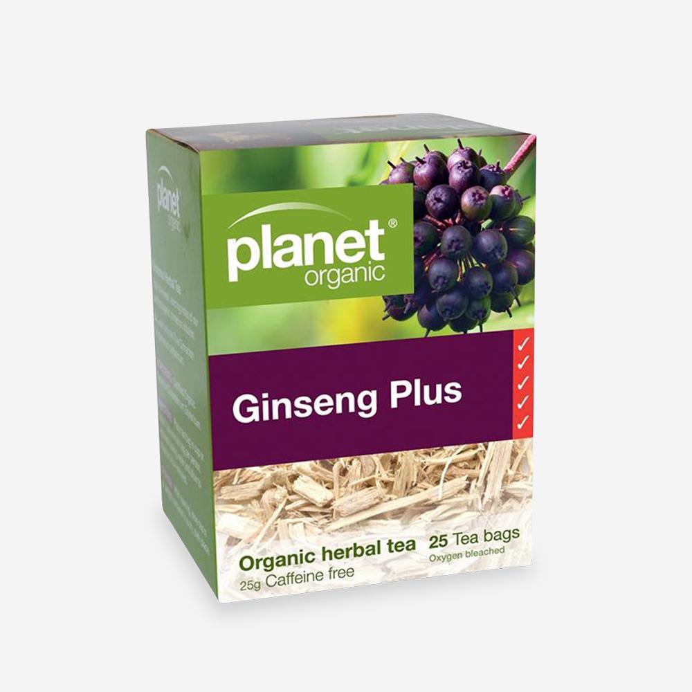 Planet Organic Ginseng Plus Tea