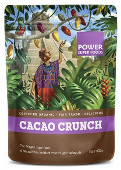 Power Super Foods Certified Organic Cacao Crunch Sweet Cacao Nibs