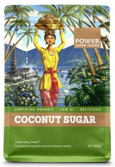 Power Super Foods Certified Organic Coconut Sugar