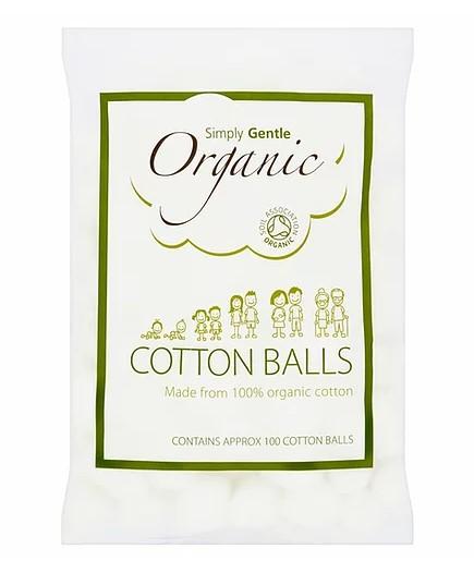 Simply Gentle Organic Cotton Balls