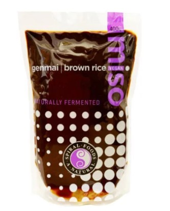 Spiral Foods Genmai Brown Rice Miso