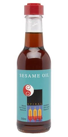 Spiral Foods Dark Roasted Sesame Oil