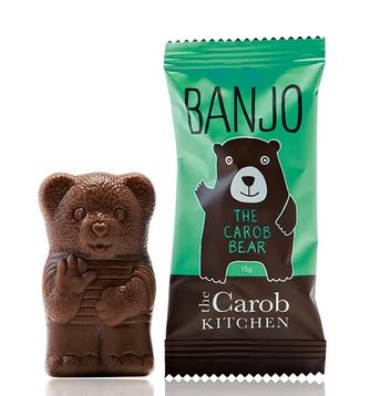 The Carob Kitchen Carob Bear Mint (Banjo Bear)