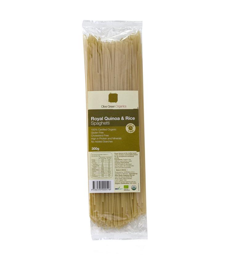 Olive Green Organics Royal Quinoa & Rice Spaghetti