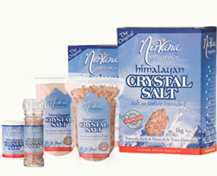 Nirvana Organics Himalayan Crystal Salt Stone Ground