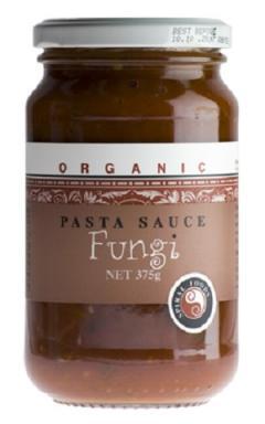 Spiral Foods Organic Funghi Pasta Sauce