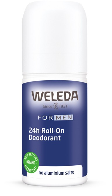 Weleda Deodorant 24hr Roll-On For Men