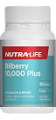 Nutra Life Bilberry 10,000 plus Lutein