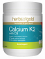 Herbs of Gold Calcium K2 with D3