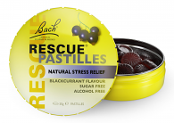 Bach Rescue Pastilles Blackcurrant Natural Stress Relief