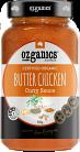 Ozganics Certified Butter Chicken Style Curry Simmer Sauce