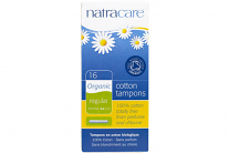 Natracare Organic Cotton Tampons Regular With Applicator