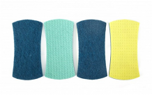 Full Circle Counter Scrubbers Stretch 4pk