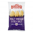 Boulder Canyon Kettle Cooked Potato Chips Malt Vinegar & Sea Salt