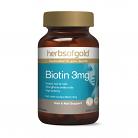 Herbs of Gold Biotin 3mg